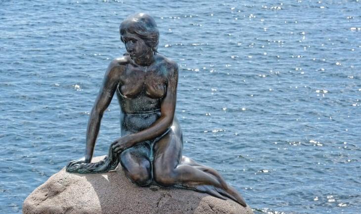 Spomenik Mala Sirena - simbol Kopenhagena