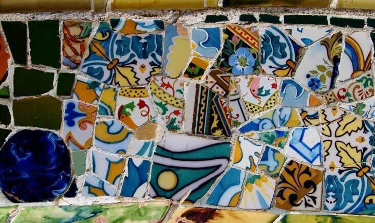 Gaudijev apstraktni mozaik