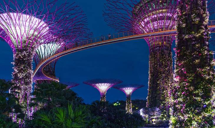 Viseži vrtovi u Singapuru