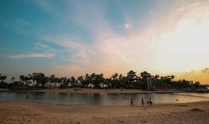 Plaža u Singapuru