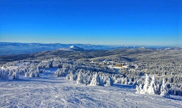 Pejzaž snega na Kopaoniku